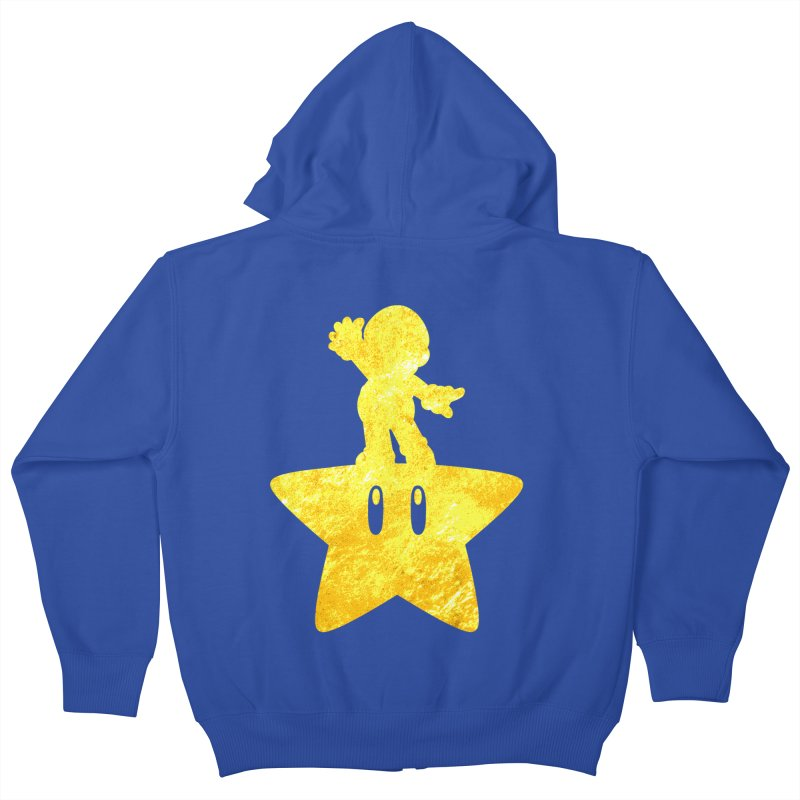 Young Scrappy Plumber Kids Zip-Up Hoody by coddesigns's Artist Shop