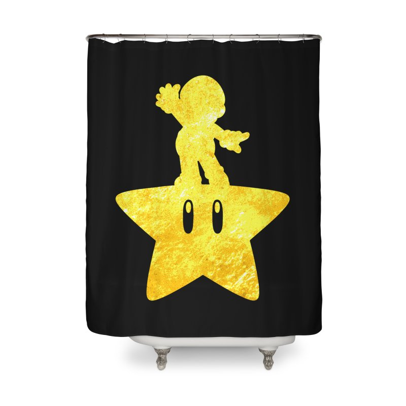 Young Scrappy Plumber Home Shower Curtain by coddesigns's Artist Shop