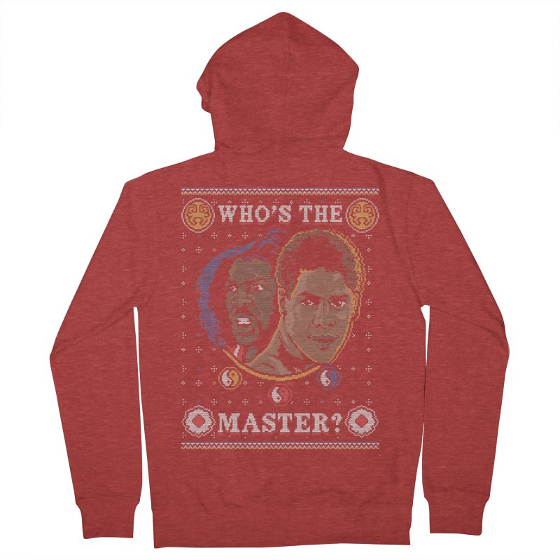 Who's The Master? Men's Zip-Up Hoody by coddesigns's Artist Shop