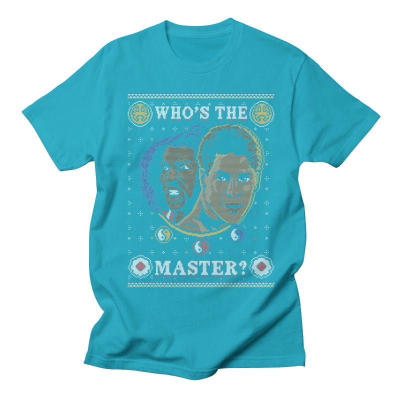 Who's The Master? Men's T-shirt by coddesigns's Artist Shop