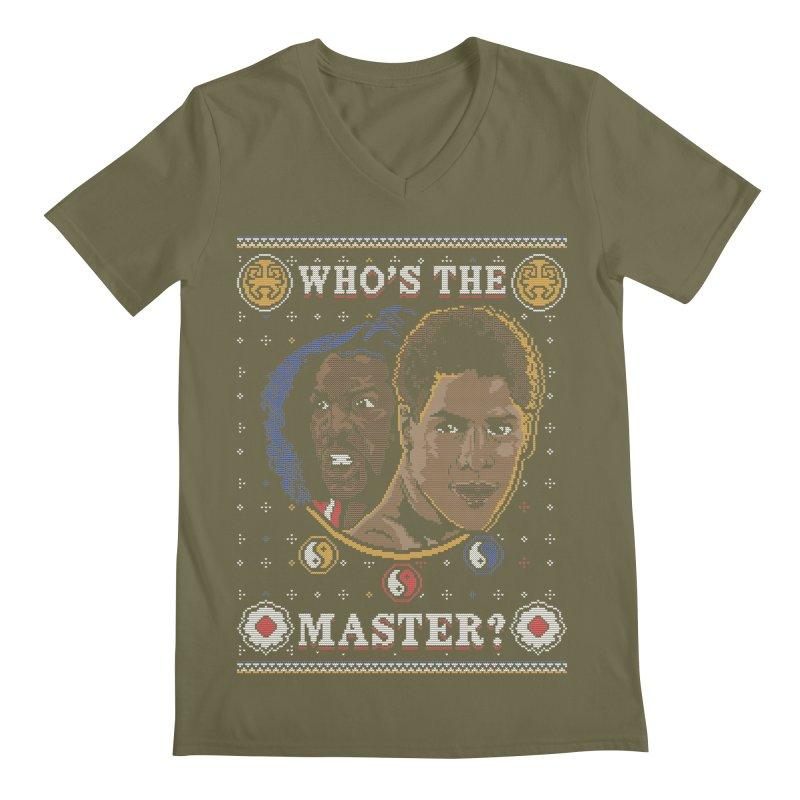Who's The Master? Men's V-Neck by coddesigns's Artist Shop