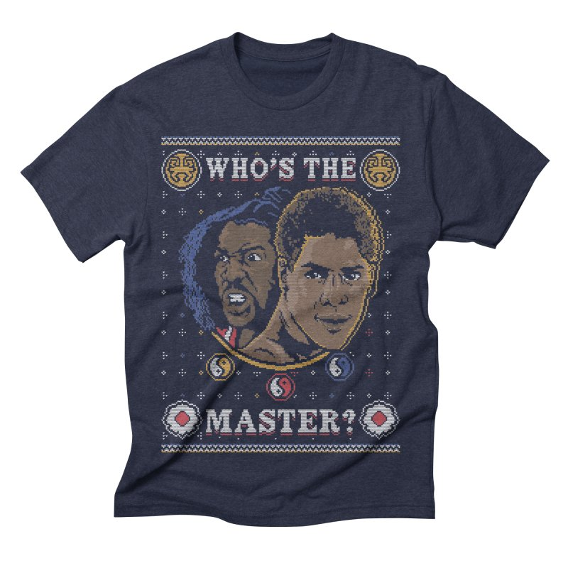 Who's The Master? Men's Triblend T-shirt by coddesigns's Artist Shop