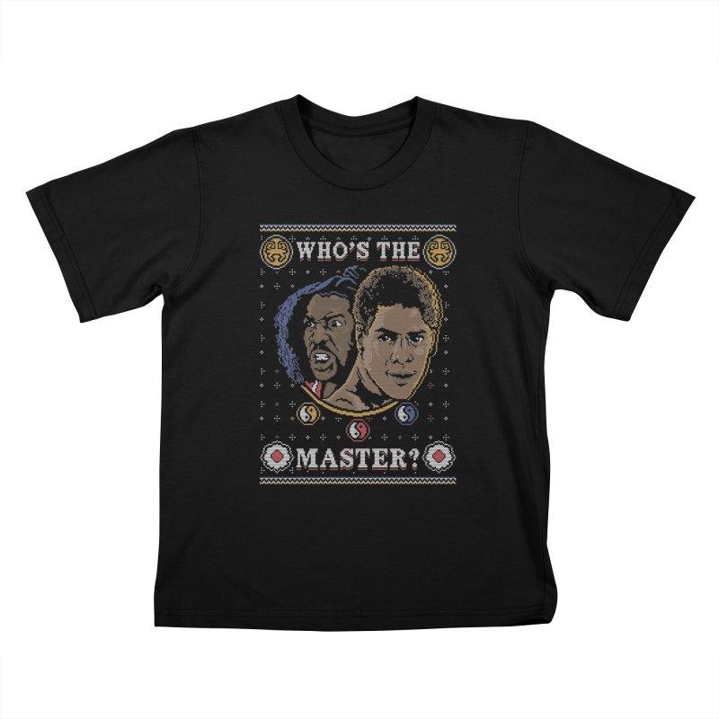 Who's The Master? Kids T-shirt by coddesigns's Artist Shop