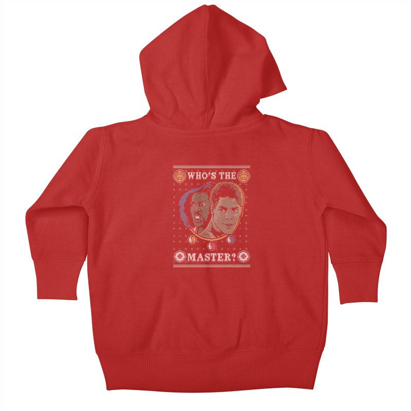 Who's The Master? Kids Baby Zip-Up Hoody by coddesigns's Artist Shop