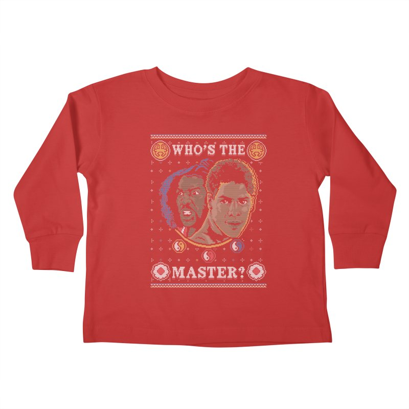 Who's The Master? Kids Toddler Longsleeve T-Shirt by coddesigns's Artist Shop