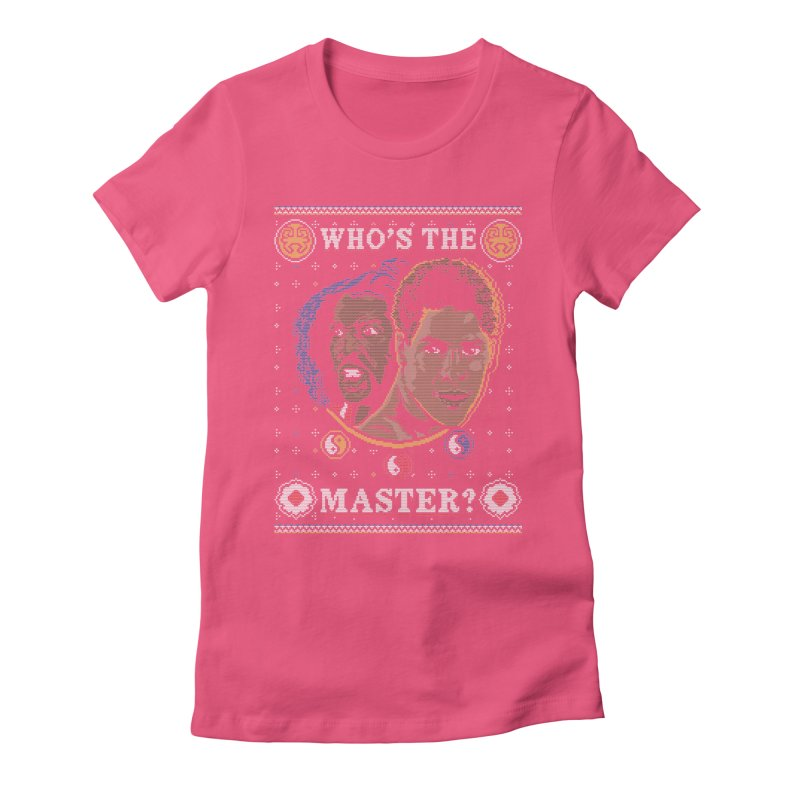 Who's The Master? Women's Fitted T-Shirt by coddesigns's Artist Shop