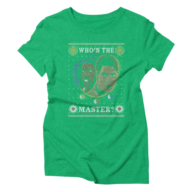 Who's The Master? Women's Triblend T-Shirt by coddesigns's Artist Shop