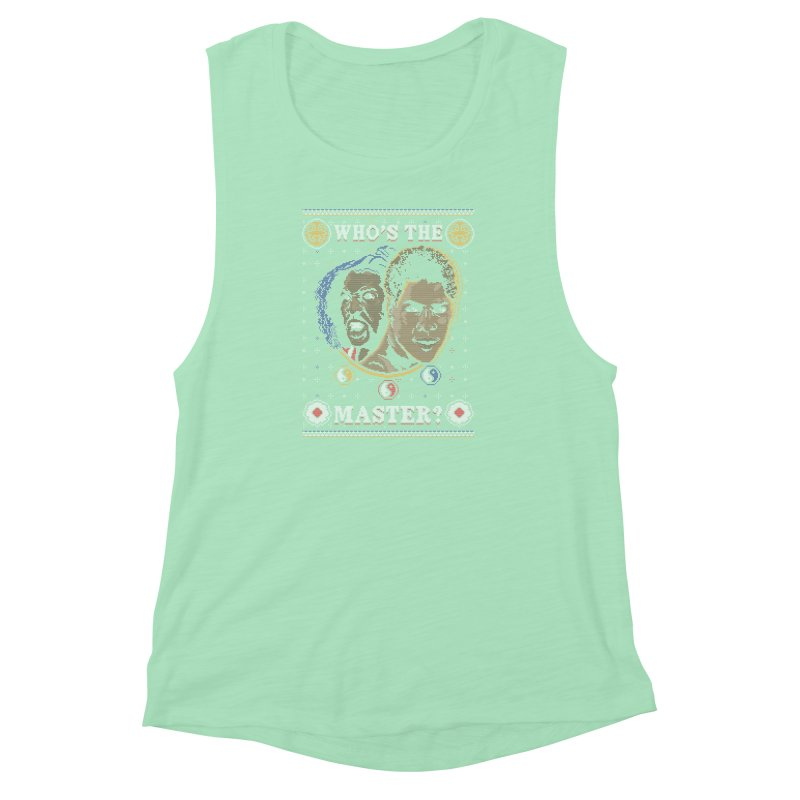 Who's The Master? Women's Muscle Tank by coddesigns's Artist Shop