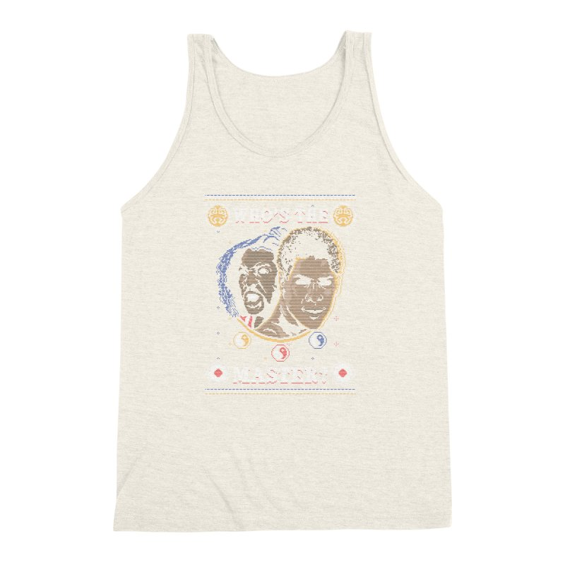 Who's The Master? Men's Triblend Tank by coddesigns's Artist Shop