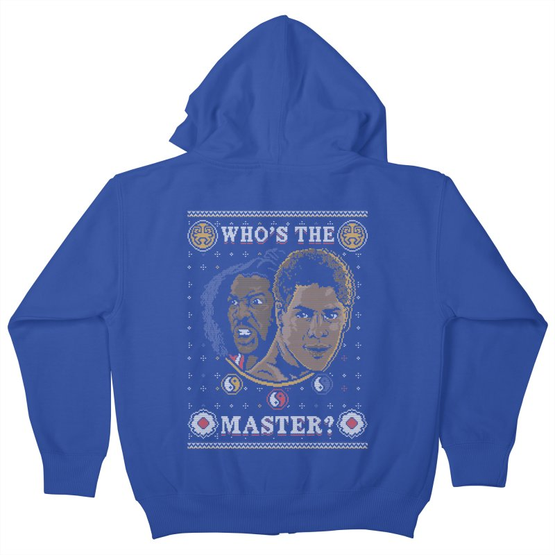 Who's The Master? Kids Zip-Up Hoody by coddesigns's Artist Shop