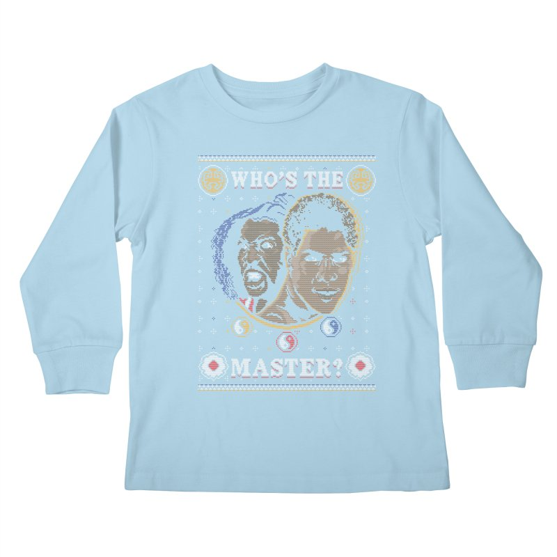 Who's The Master? Kids Longsleeve T-Shirt by coddesigns's Artist Shop