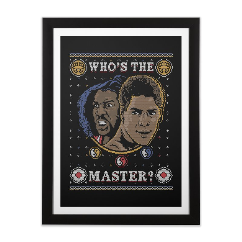 Who's The Master? Home Framed Fine Art Print by coddesigns's Artist Shop