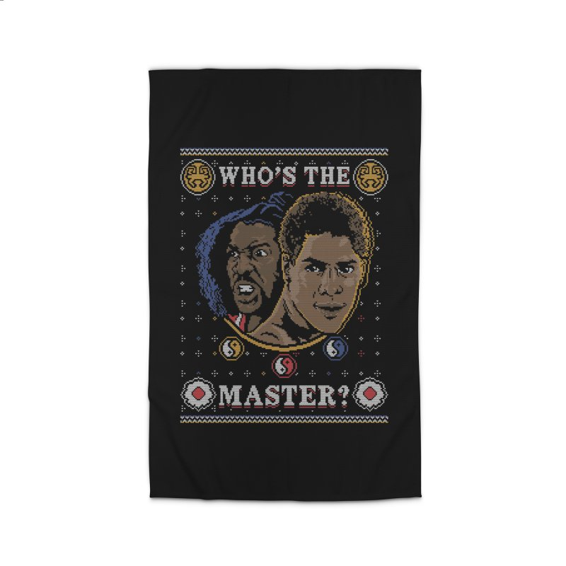 Who's The Master? Home Rug by coddesigns's Artist Shop