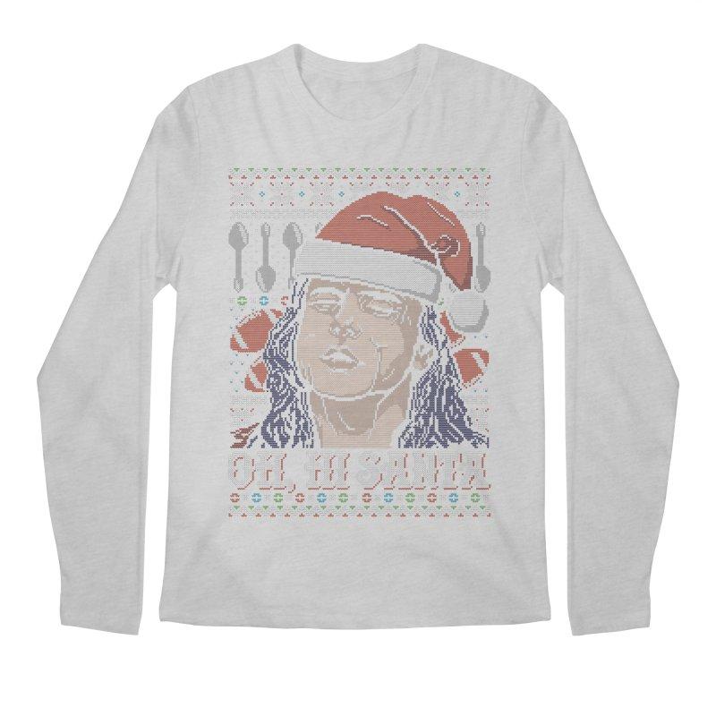 Oh, Hi Santa Men's Longsleeve T-Shirt by coddesigns's Artist Shop