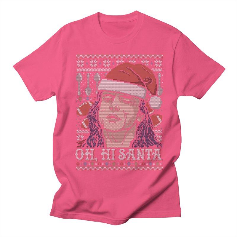 Oh, Hi Santa Men's T-shirt by coddesigns's Artist Shop