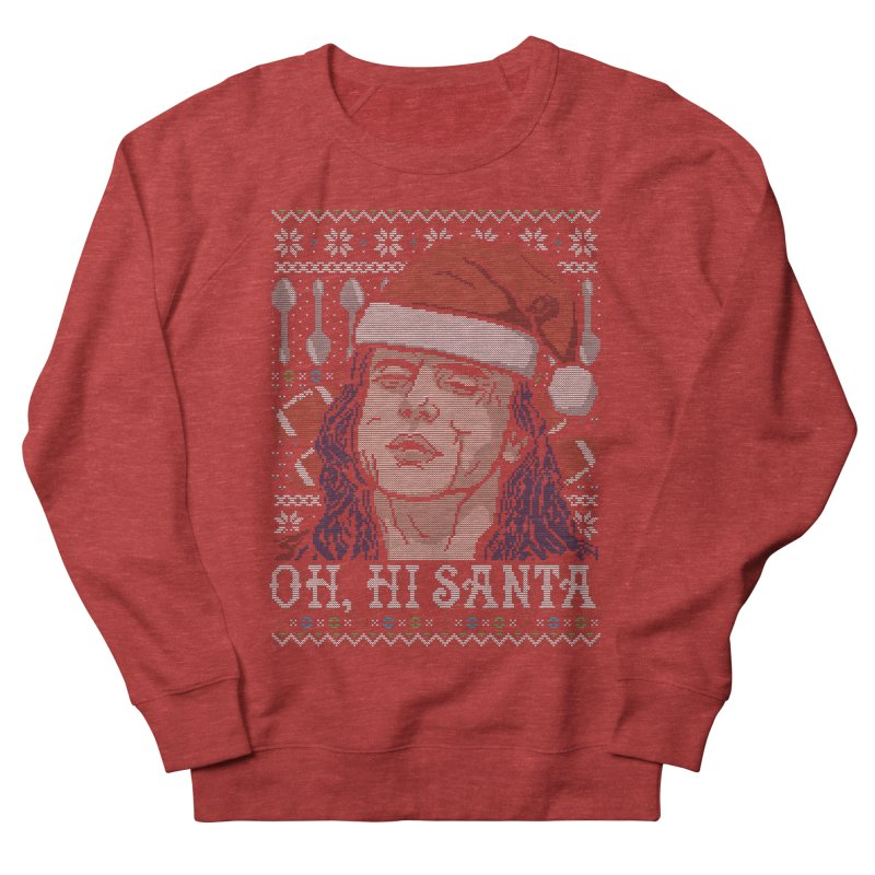 Oh, Hi Santa Men's Sweatshirt by coddesigns's Artist Shop