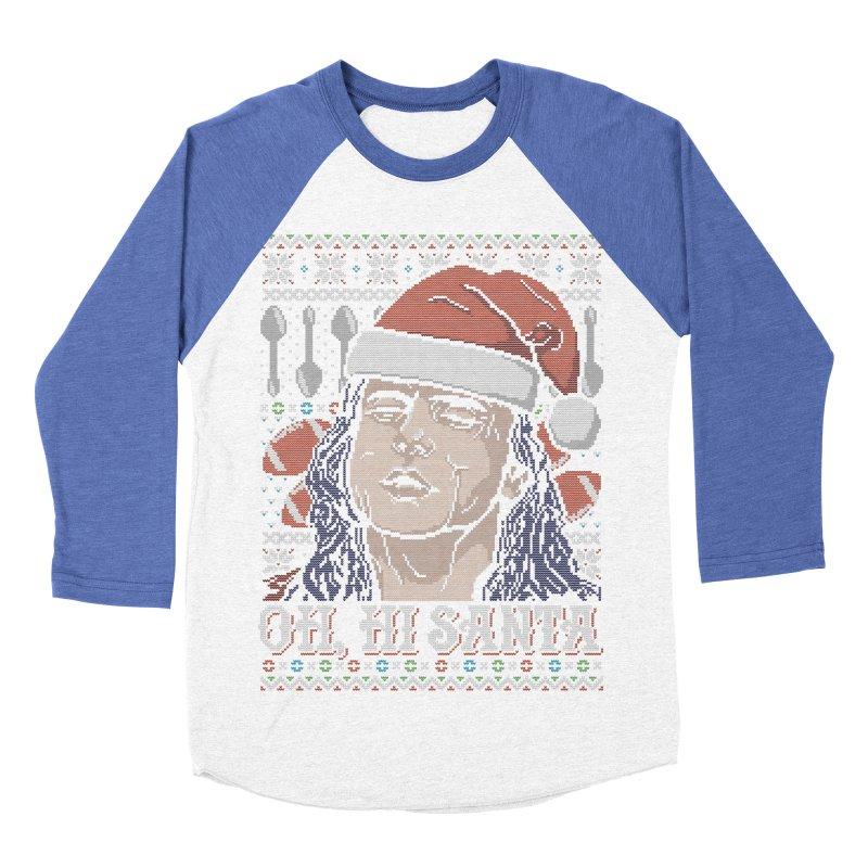 Oh, Hi Santa Women's Baseball Triblend T-Shirt by coddesigns's Artist Shop