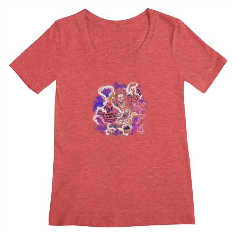 Gear 4 Women's Scoopneck by coddesigns's Artist Shop