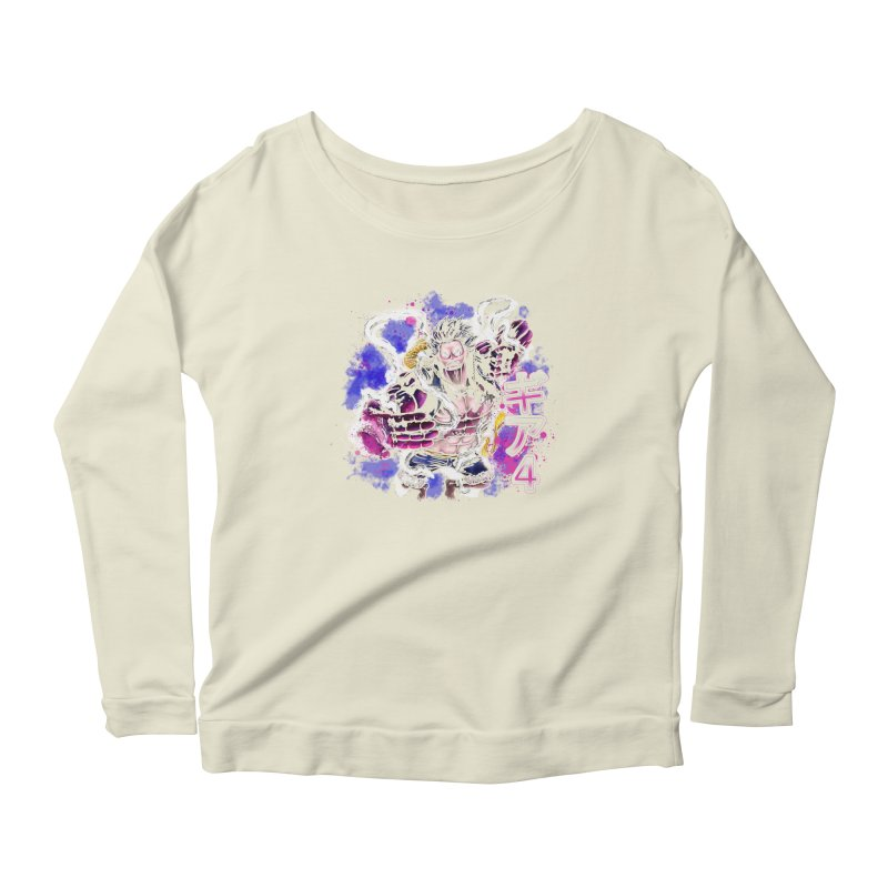 Gear 4 Women's Longsleeve Scoopneck  by coddesigns's Artist Shop