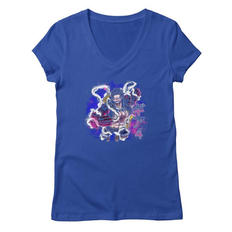 Gear 4 Women's V-Neck by coddesigns's Artist Shop