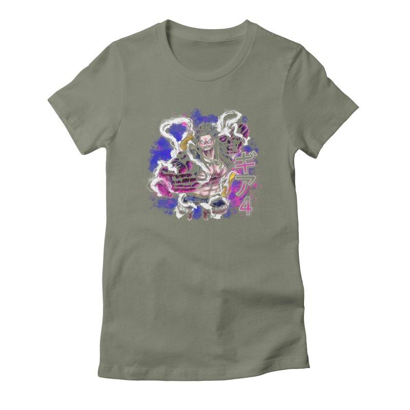 Gear 4 Women's Fitted T-Shirt by coddesigns's Artist Shop