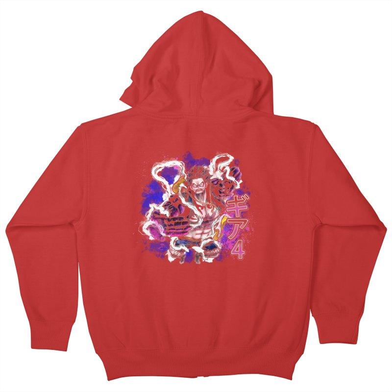 Gear 4 Kids Zip-Up Hoody by coddesigns's Artist Shop