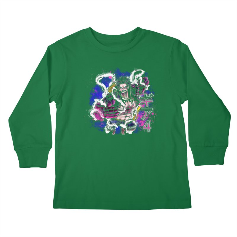 Gear 4 Kids Longsleeve T-Shirt by coddesigns's Artist Shop