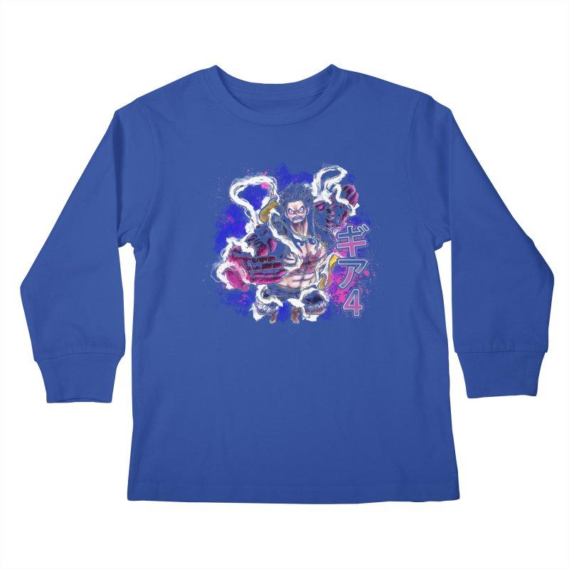 Gear 4 Kids Longsleeve T-Shirt by coddesigns's Artist Shop