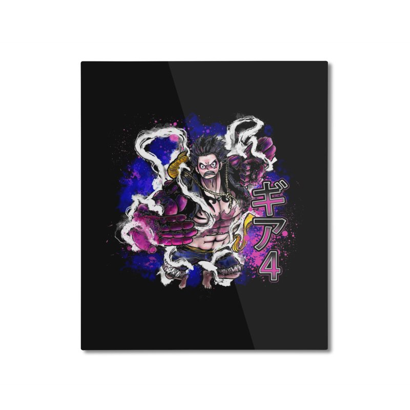 Gear 4 Home Mounted Aluminum Print by coddesigns's Artist Shop