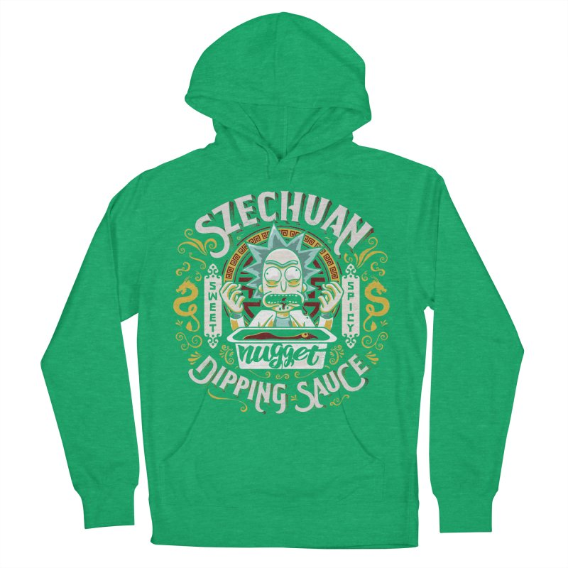 Grandpa Rick's Nugget Dipping Sauce Women's Pullover Hoody by coddesigns's Artist Shop