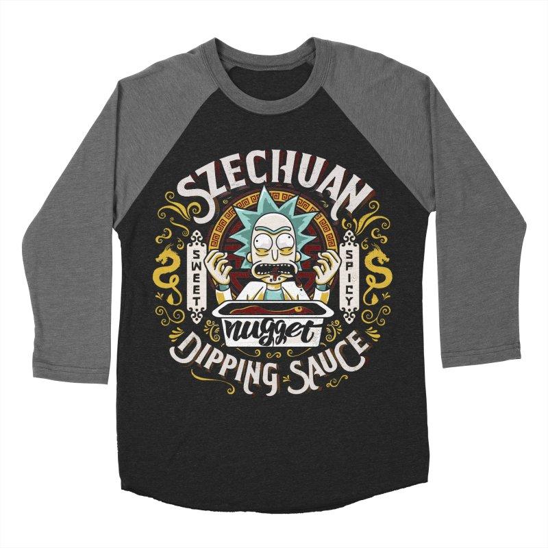 Grandpa Rick's Nugget Dipping Sauce Women's Baseball Triblend T-Shirt by coddesigns's Artist Shop
