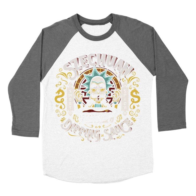 Grandpa Rick's Nugget Dipping Sauce Men's Baseball Triblend T-Shirt by coddesigns's Artist Shop