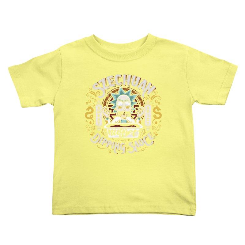 Grandpa Rick's Nugget Dipping Sauce Kids Toddler T-Shirt by coddesigns's Artist Shop