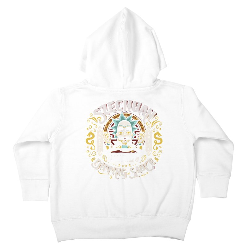 Grandpa Rick's Nugget Dipping Sauce Kids Toddler Zip-Up Hoody by coddesigns's Artist Shop