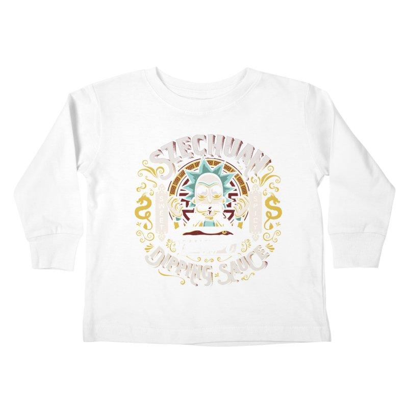 Grandpa Rick's Nugget Dipping Sauce Kids Toddler Longsleeve T-Shirt by coddesigns's Artist Shop