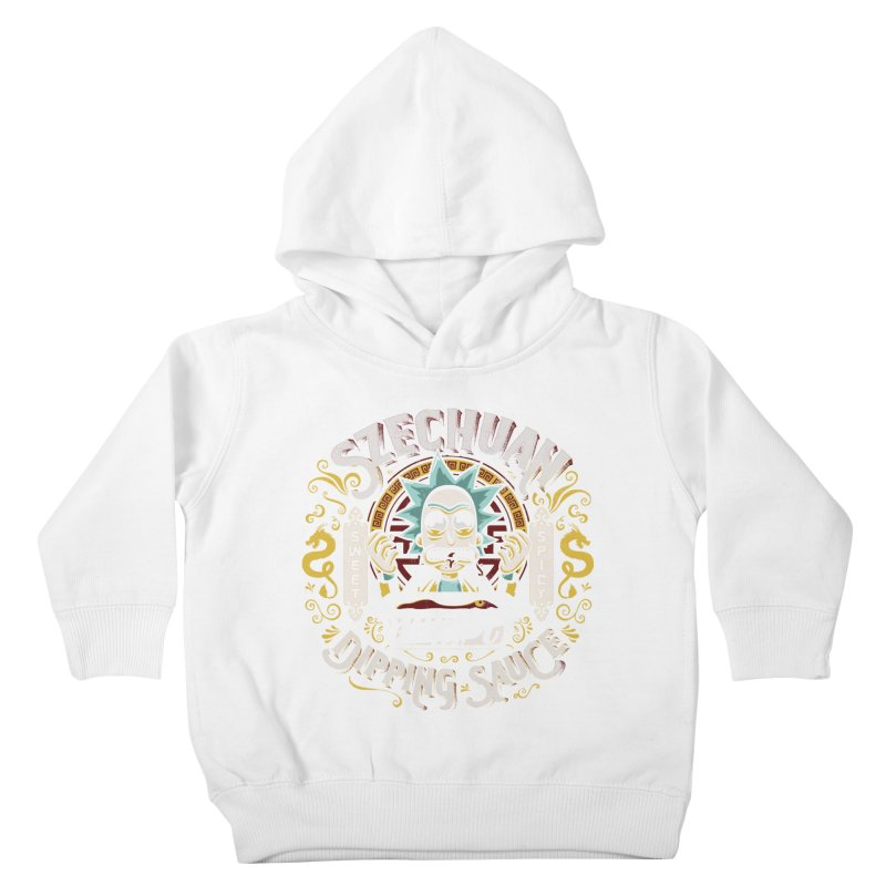 Grandpa Rick's Nugget Dipping Sauce Kids Toddler Pullover Hoody by coddesigns's Artist Shop