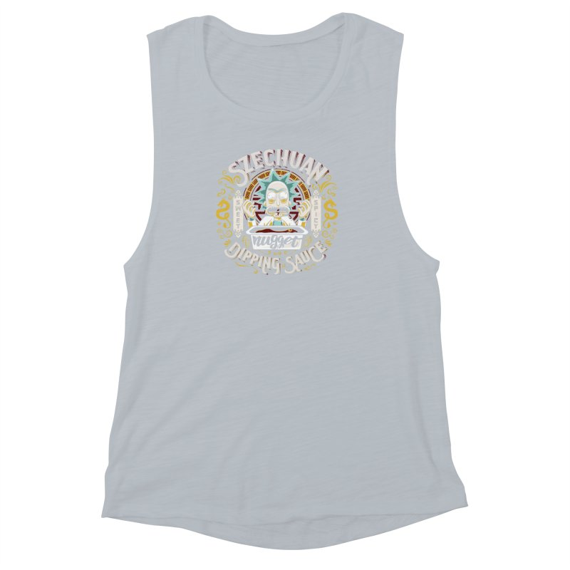 Grandpa Rick's Nugget Dipping Sauce Women's Muscle Tank by coddesigns's Artist Shop