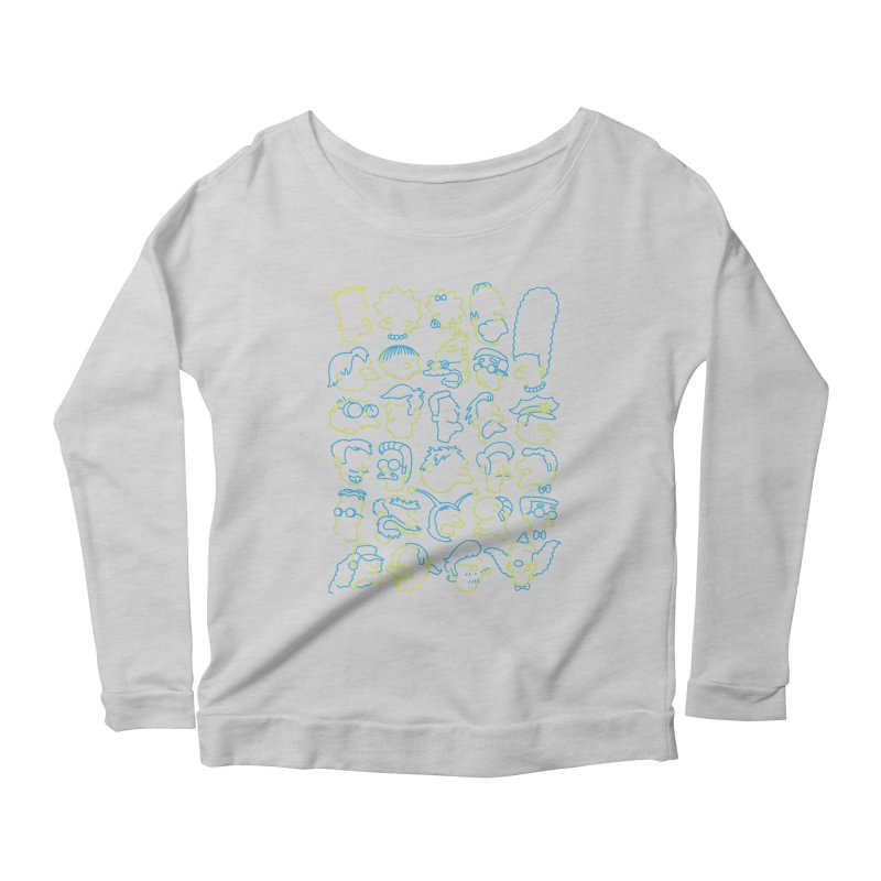 Perfectly Cromulent Women's Longsleeve Scoopneck  by coddesigns's Artist Shop
