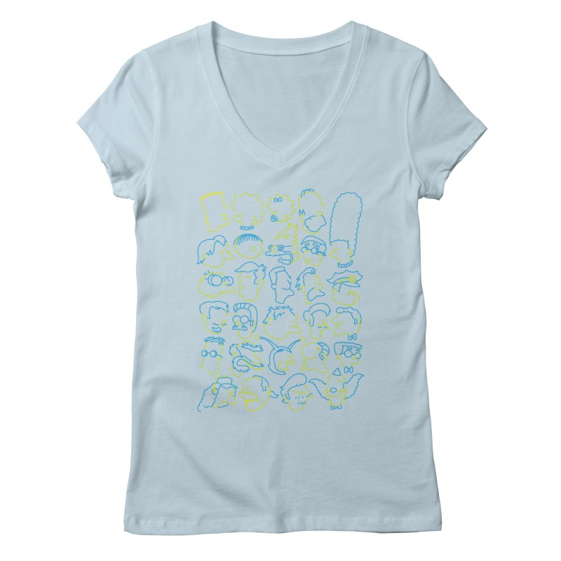 Perfectly Cromulent Women's V-Neck by coddesigns's Artist Shop