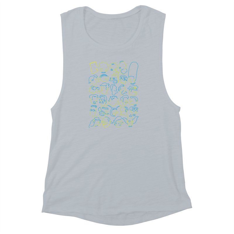 Perfectly Cromulent Women's Muscle Tank by coddesigns's Artist Shop