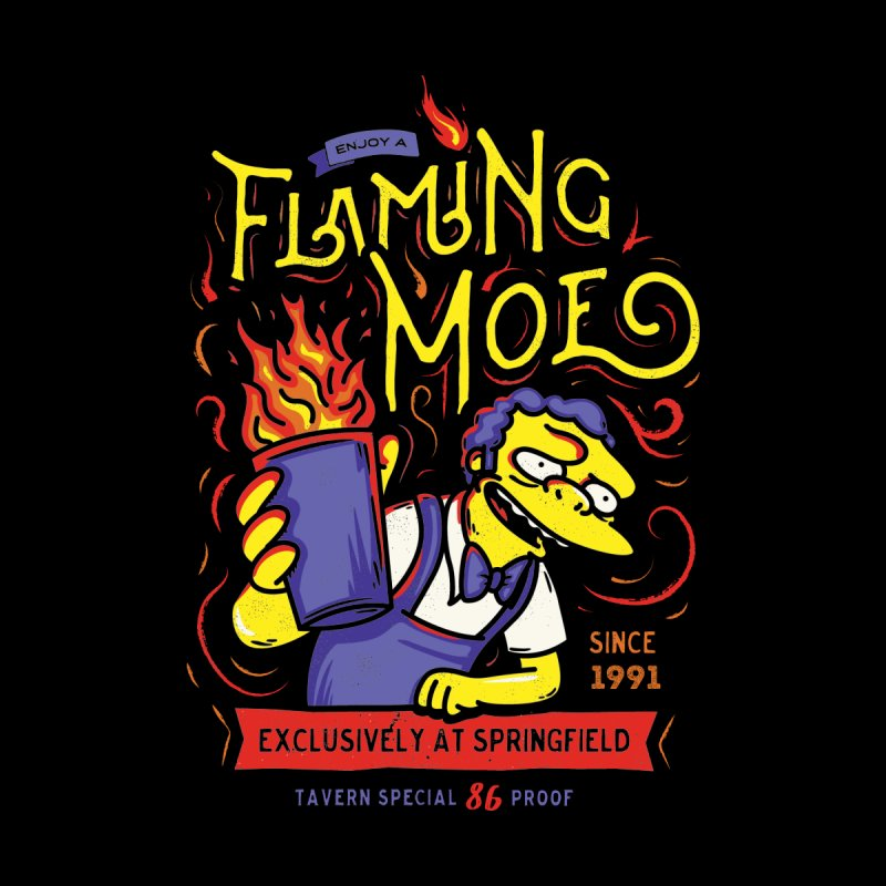Flaming Moe by coddesigns's Artist Shop
