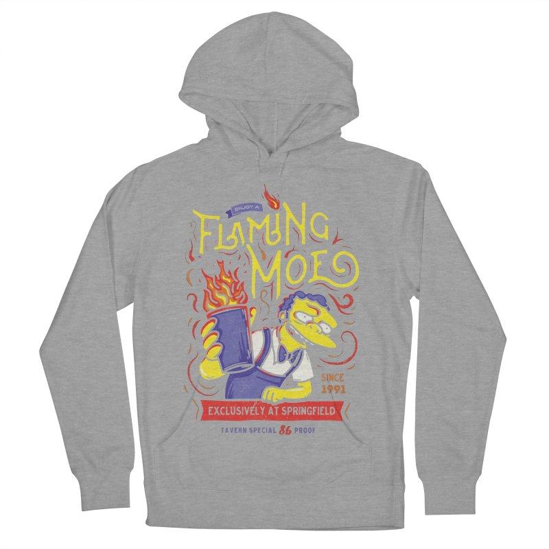 Flaming Moe Women's Pullover Hoody by coddesigns's Artist Shop