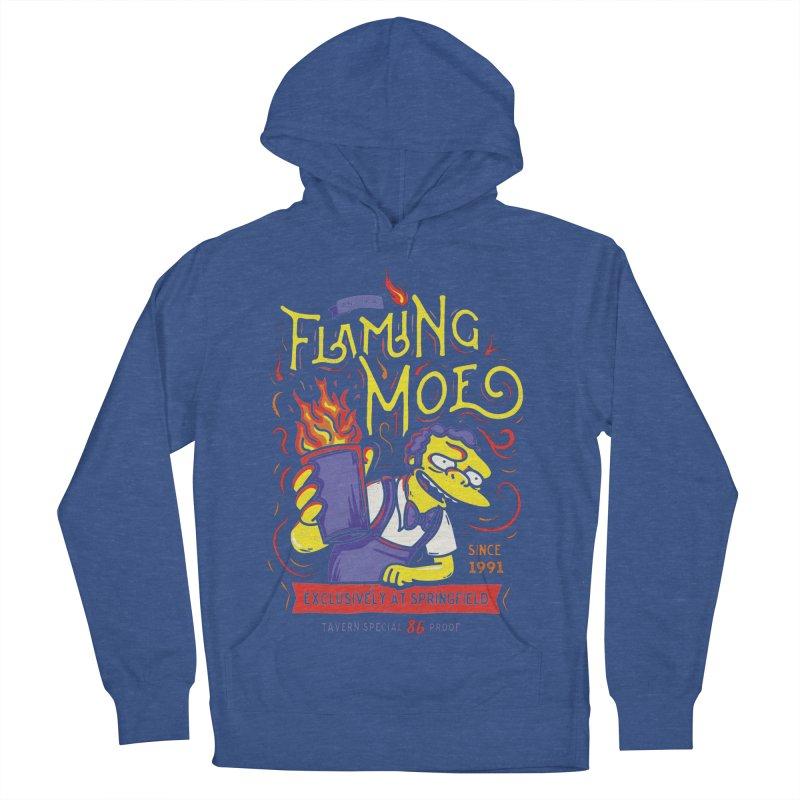 Flaming Moe Men's Pullover Hoody by coddesigns's Artist Shop