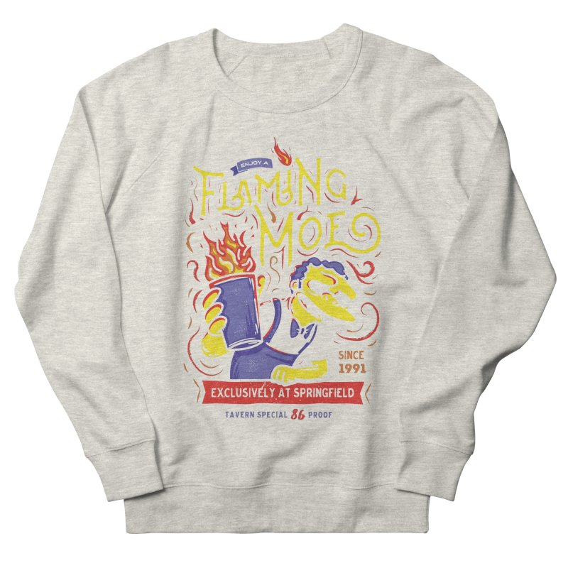Flaming Moe Women's Sweatshirt by coddesigns's Artist Shop
