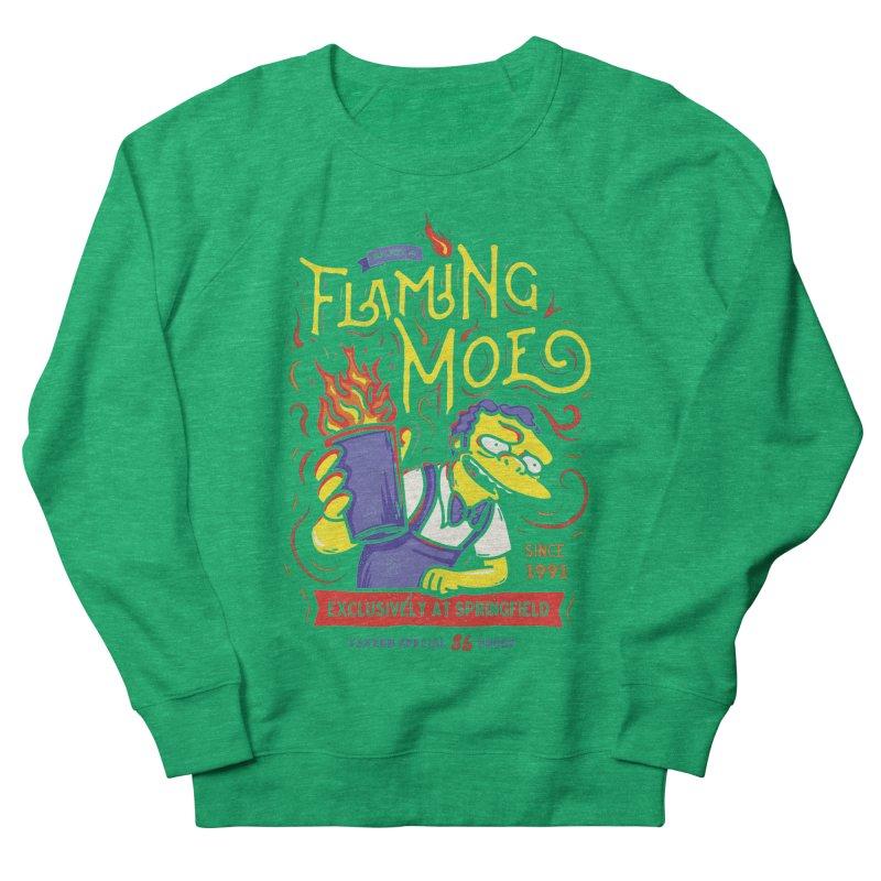 Flaming Moe Men's Sweatshirt by coddesigns's Artist Shop