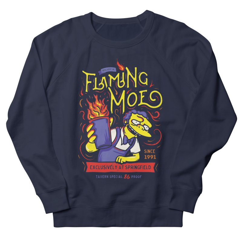 Flaming Moe Men's Sweatshirt by coddesigns's Artist Shop