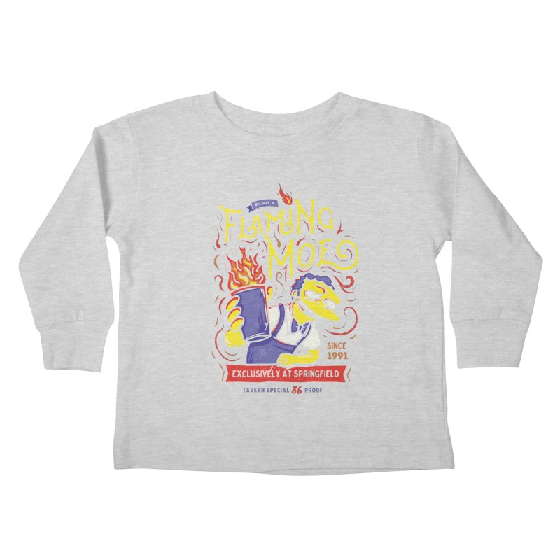 Flaming Moe Kids Toddler Longsleeve T-Shirt by coddesigns's Artist Shop