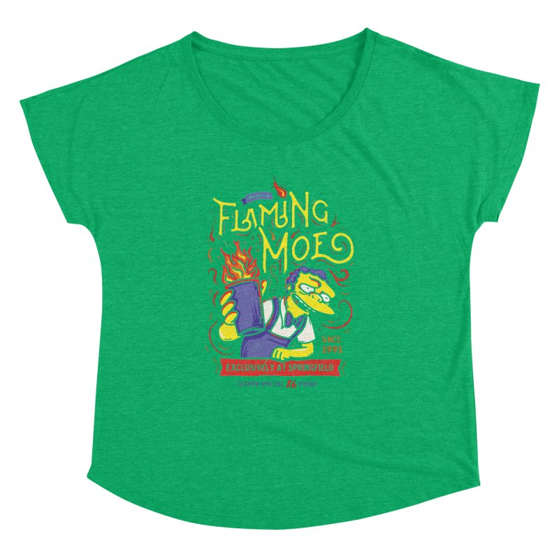 Flaming Moe Women's Dolman by coddesigns's Artist Shop
