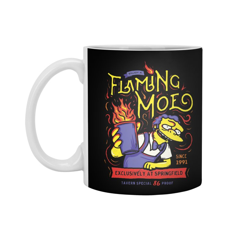 Flaming Moe Accessories Mug by coddesigns's Artist Shop