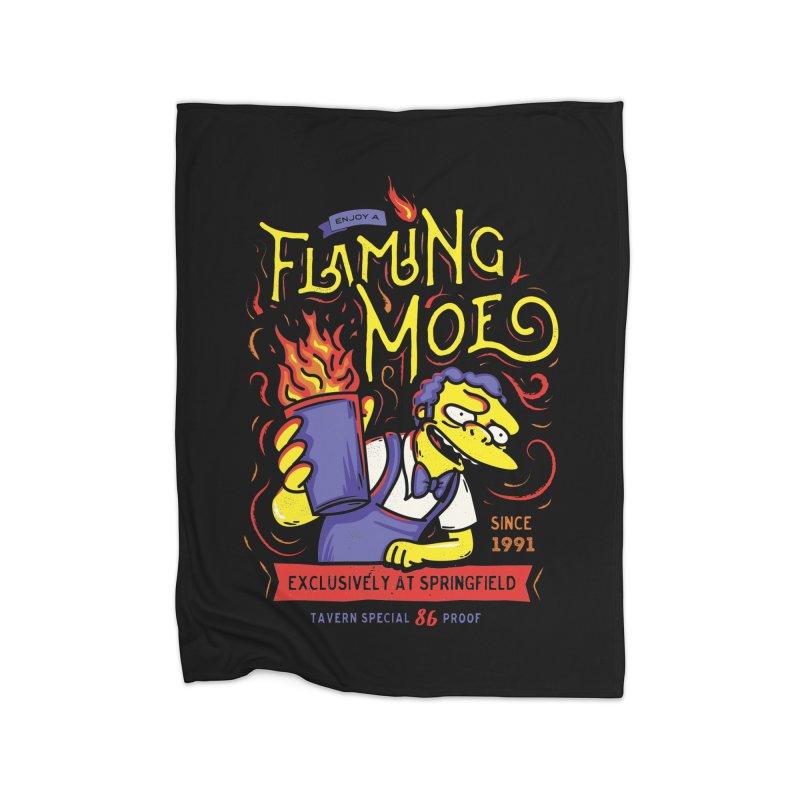 Flaming Moe Home Blanket by coddesigns's Artist Shop